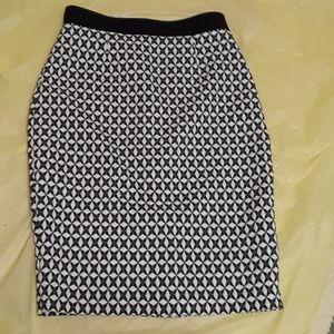 Banana Republic spandex skirt